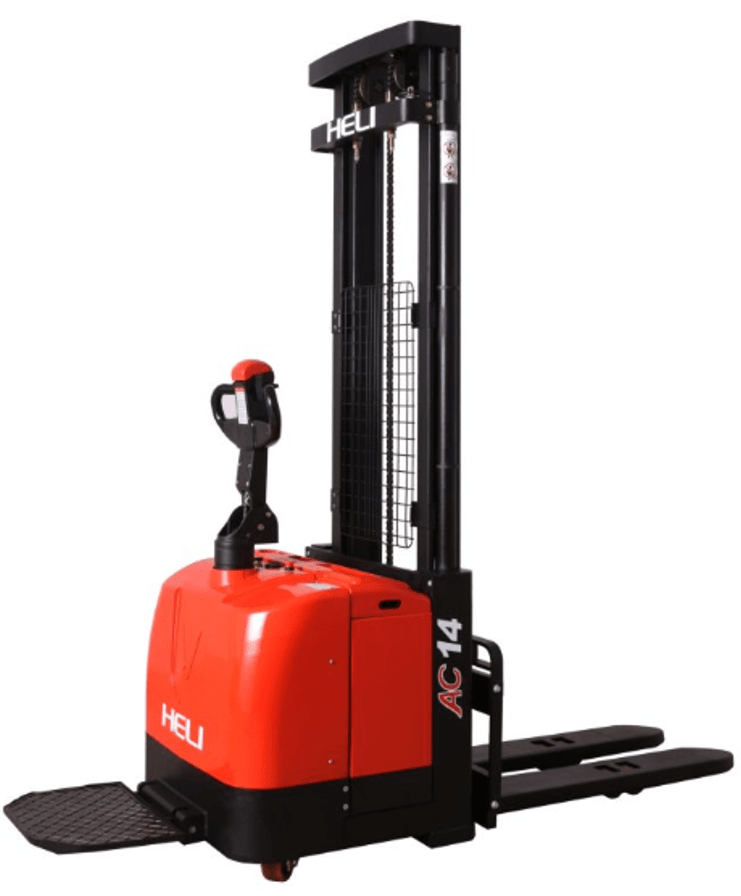 CDD16/14-D930/980/930 Electric Stacker - Forkover - 3,000 to 3,500 lbs